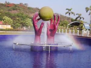 Tennis Ball Fountain